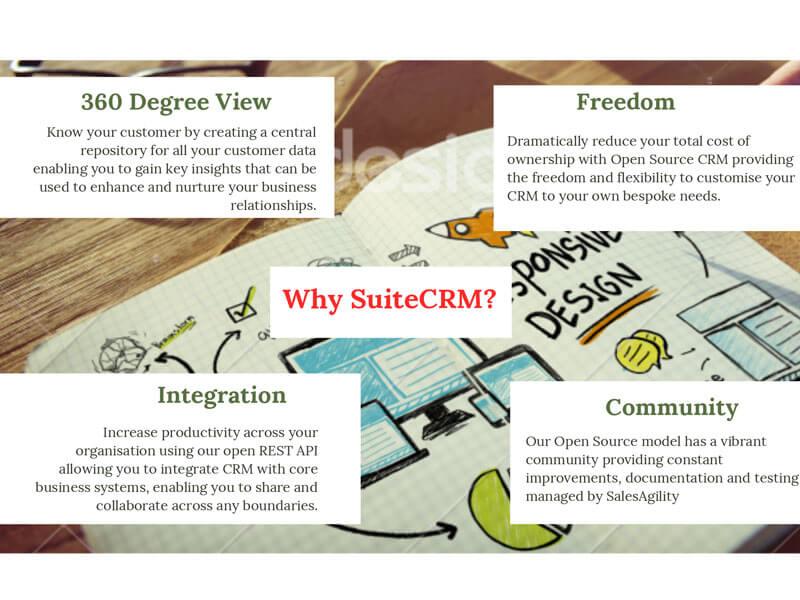 lý do bạn chọn Suitecrm