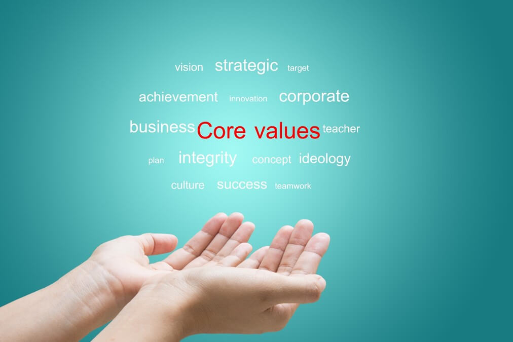 Core value với crm
