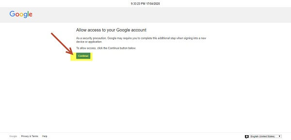 Bật chế độ capcha cho gmail